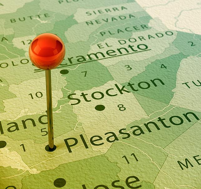 Areas We Serve - Pleasanton, CA