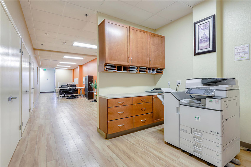 Copier Area for Day Offices