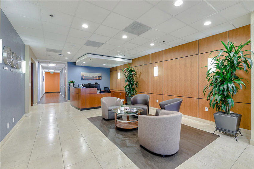 Lobby for Meeting Rooms